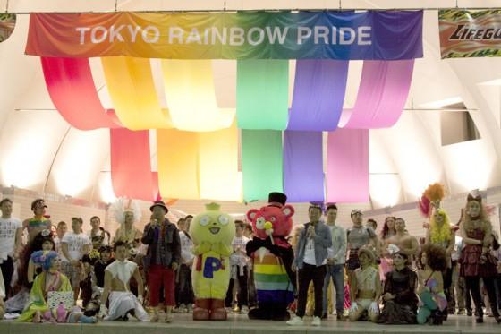「東京レインボープライド2015」のステージ