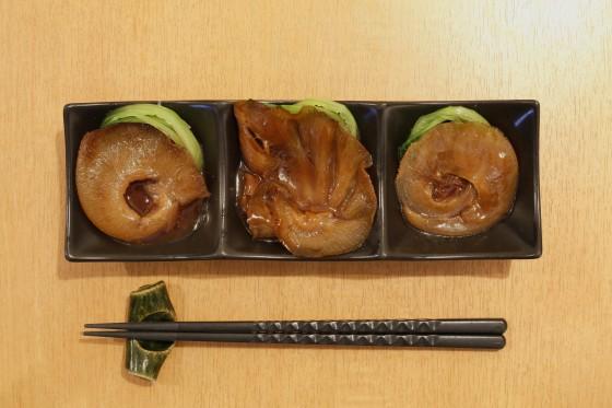 3種のフカヒレ姿煮