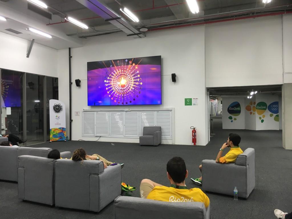 リオデジャネイロ・国際放送センター内PVスペース